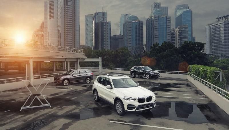 3 model BMW Seri X terbaru meluncur di Indonesia