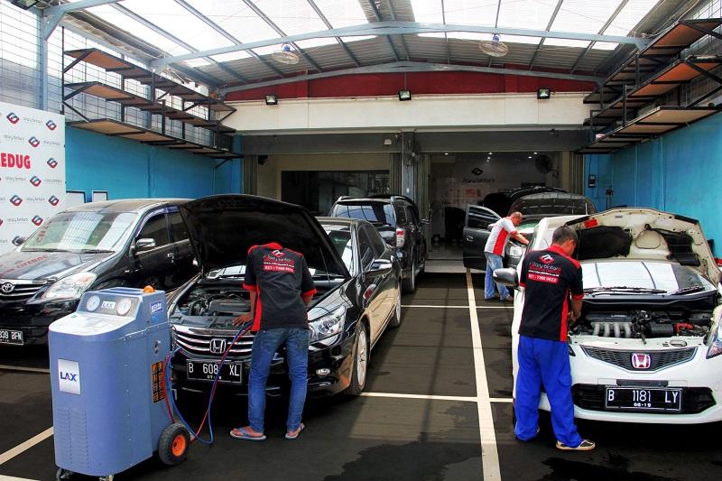 Kisaran biaya service AC mobil di Rotary Bintaro