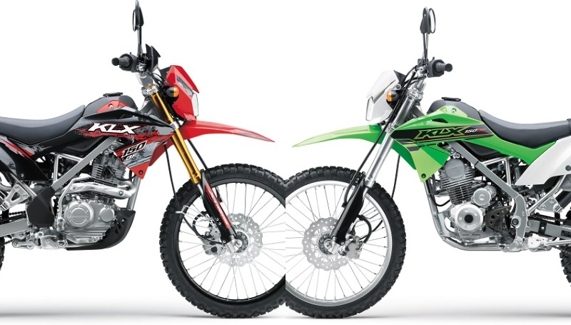 KLX 150 BF SE dan KLX 150 BF