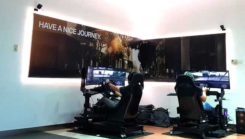 racing simulator