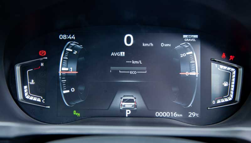 Fitur Mitsubishi New Pajero Sport