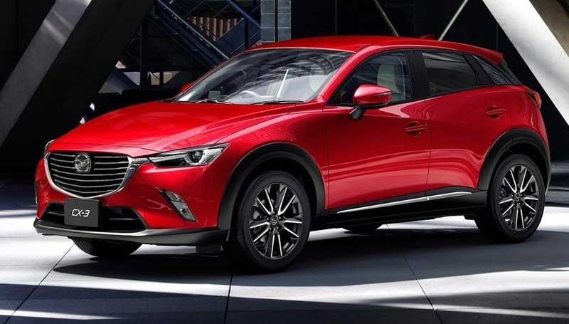 Mazda CX-3 baru usung mesin 1.5 liter