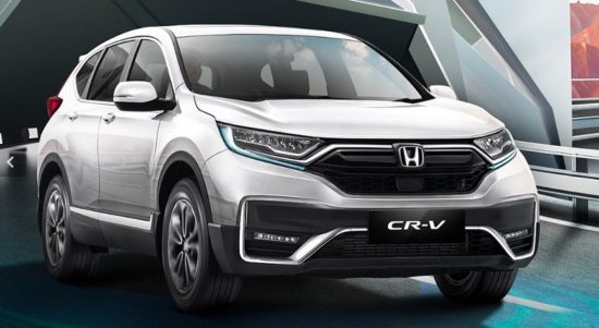 Honda CR-V terbaru