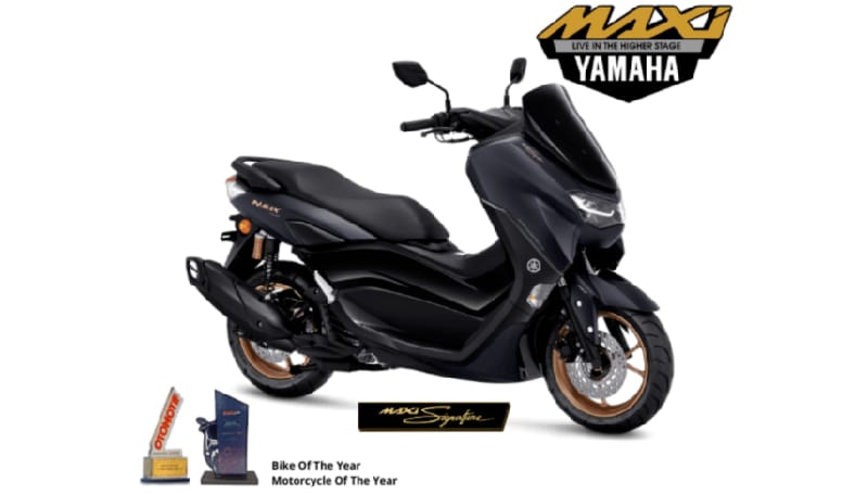 Warna baru NMAX 155 Connected / ABS