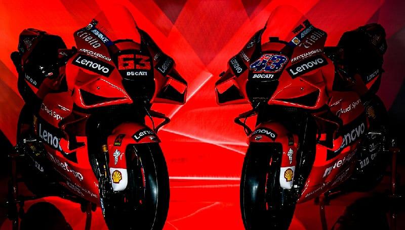 livery motor motogp 2021 Ducati Lenovo Team