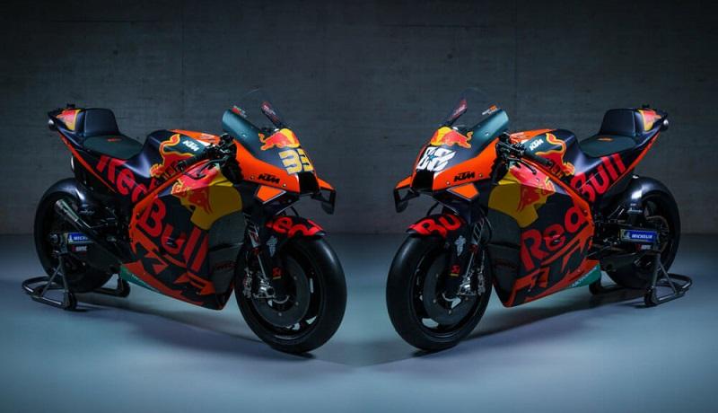 livery motor motogp 2021 ktm factory racing