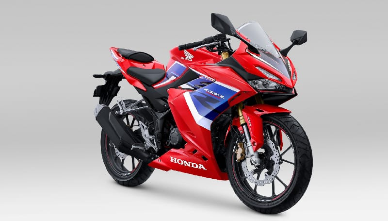 Motor Honda Warna Tricolor