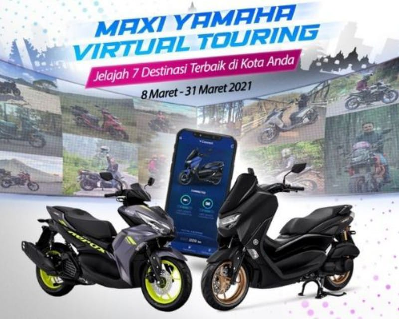 Maxi Yamaha Virtual Touring 2021
