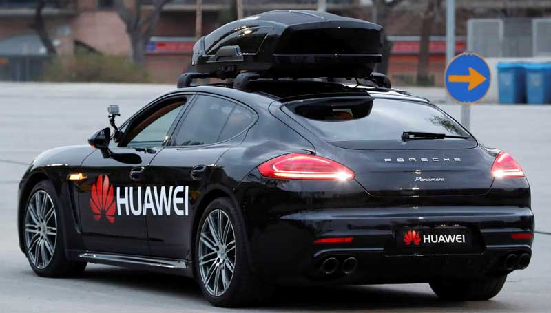 Mobil listrik Huawei
