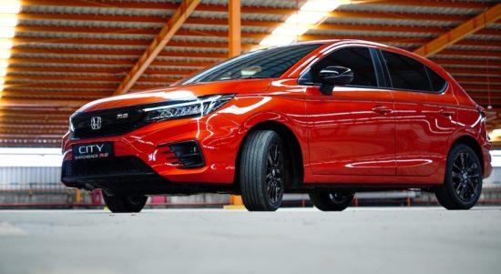 Perbedaan Honda City Hatchback RS dan Honda Jazz