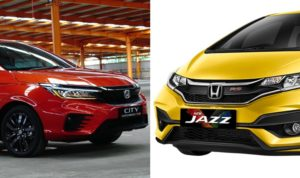 honda city hatchback vs jazz