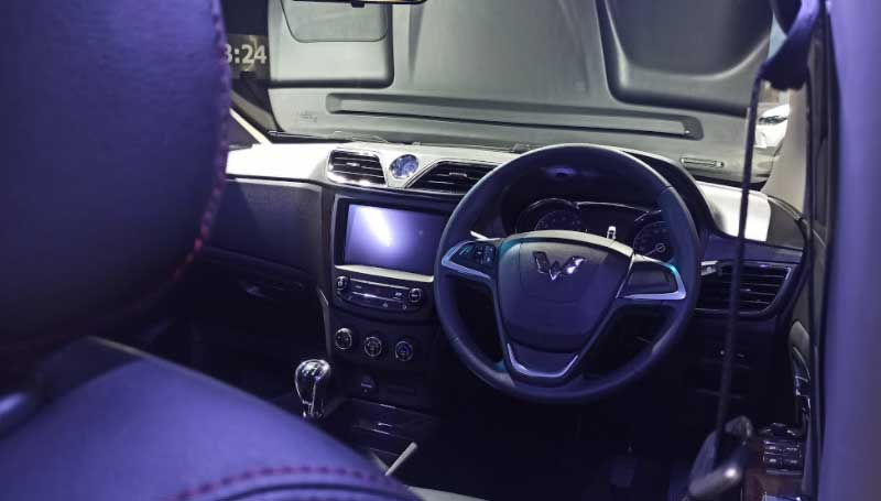 interior wuling confero s facelift 2021
