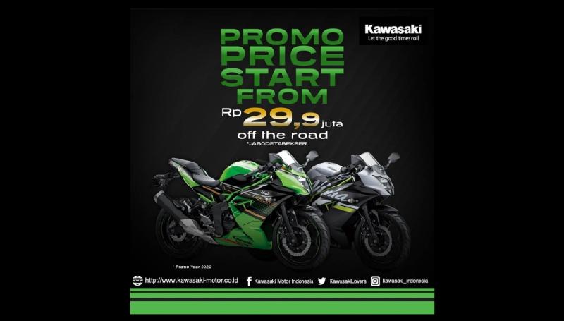harga Kawasaki Ninja 250 SL