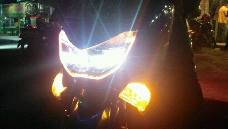 Fitur lampu darurat