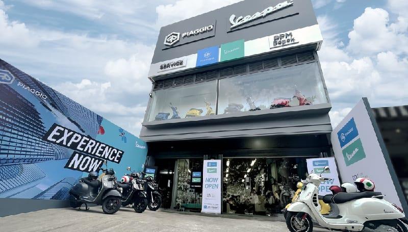 dealer piaggio Indonesia