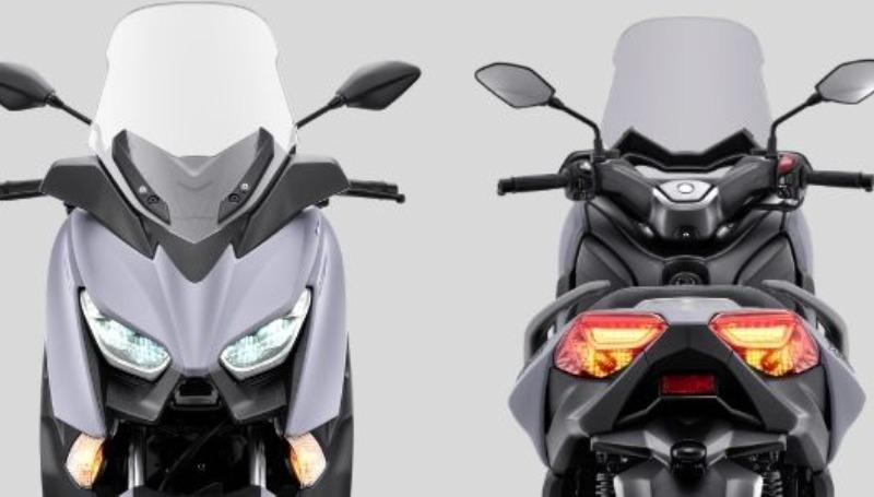 warna baru yamaha xmax 2021 matte grey