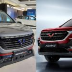 wuling almaz vs almaz rs