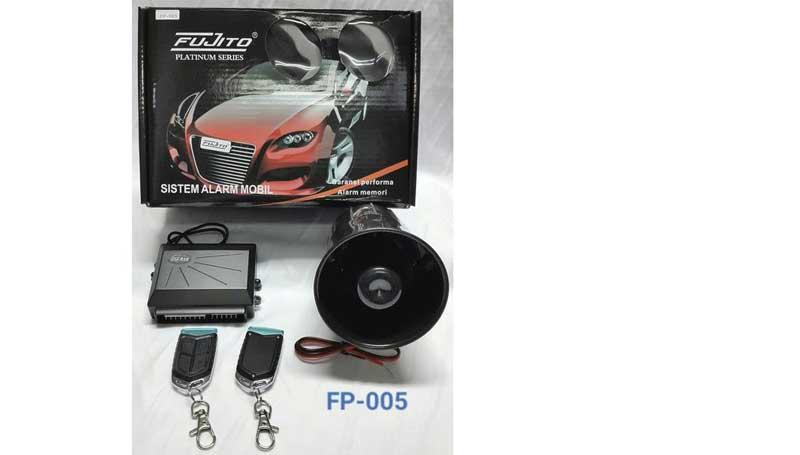 merek alarm mobil yang bagus dari Fujito