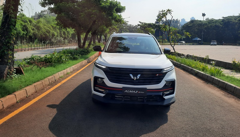 first drive wuling almaz rs
