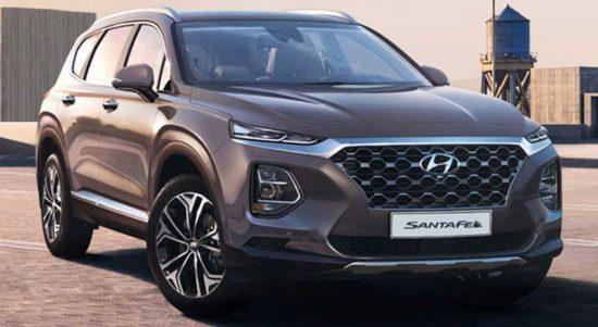 Hyundai Santa Fe terbaru