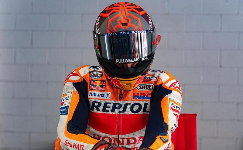marc marquez tidak ikut motogp qatar 2021