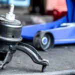 engine mounting rusak