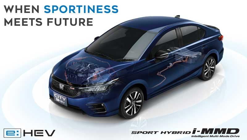 Honda City sedan e-HEV