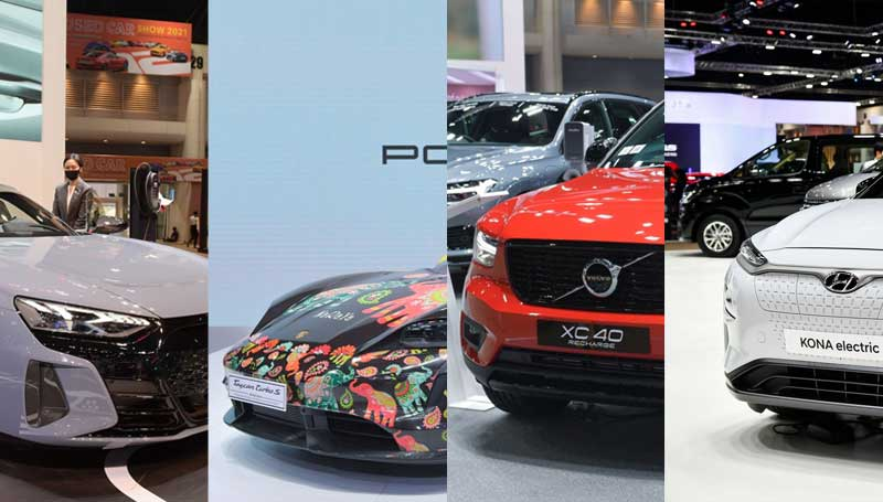 Mobil listrik di Bangkok International Motor Show 2021