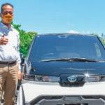 Toyota sumbang kendaraan listrik