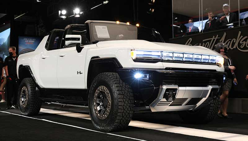 GMC Hummer listrik laku Rp 36 miliar