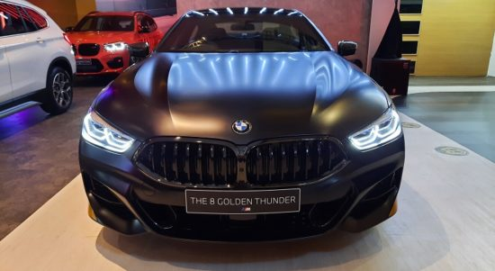 BMW 8 Gran Coupe Golden Thunder