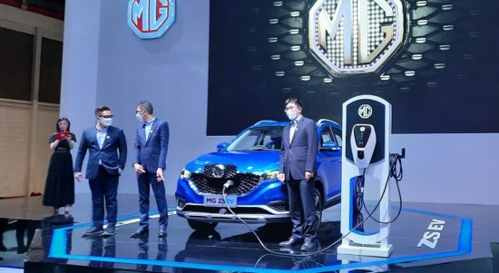 Mobil listrik MG ZS