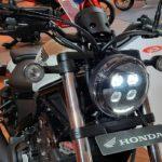 honda rebel 500 terbaru - lampu depan