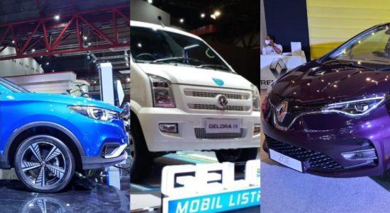 mobil listrik di iims hybrid 2021