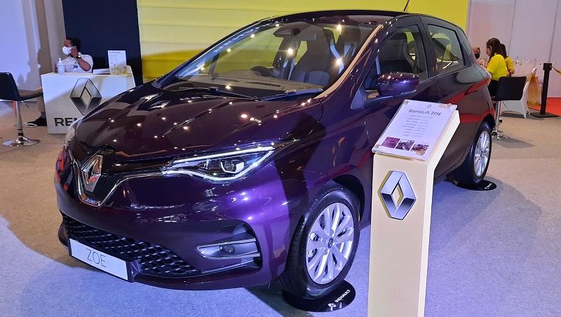 spesifikasi Renault Zoe yang mejeng di IIMS Hybrid 2021