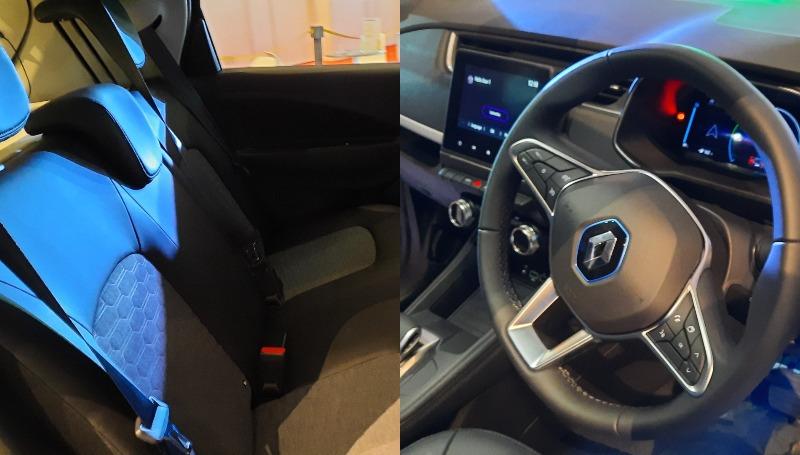 spesifikasi renault zoe - interior
