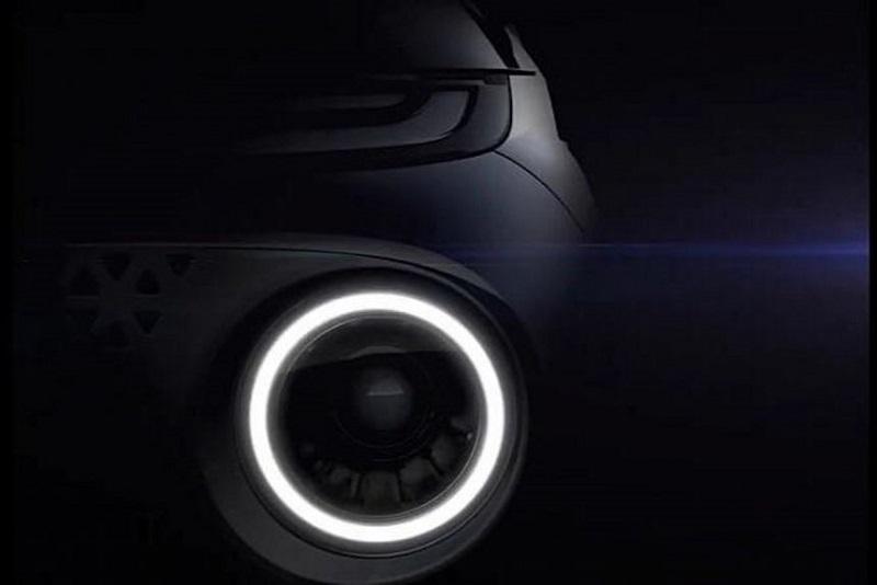 hyundai ax1 - teaser lampu depan