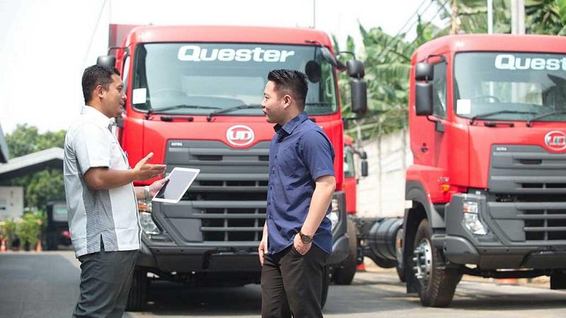 ud trucks siap pakai BBM Euro4