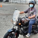 test ride royal enfield meteor 350