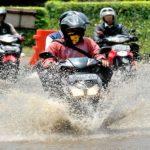 motor matic terendam banjir