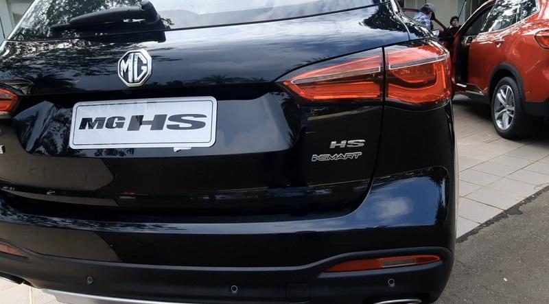 spesifikasi MG HS Magnify i-Smart - Tampak belakang
