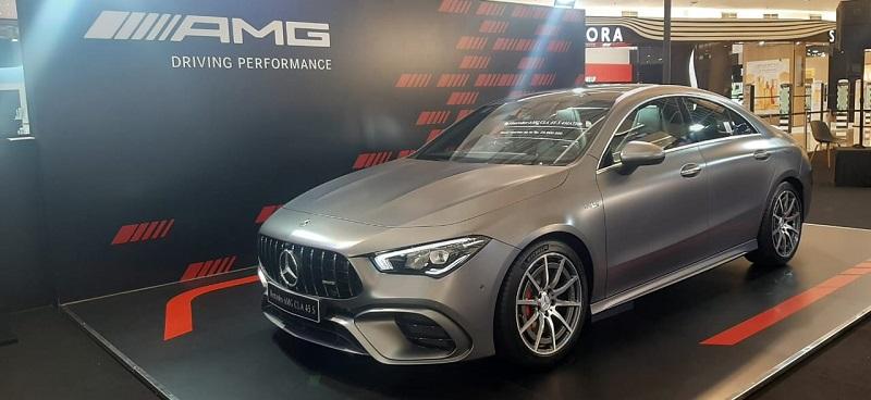New Mercedes-AMG CLA 45 S