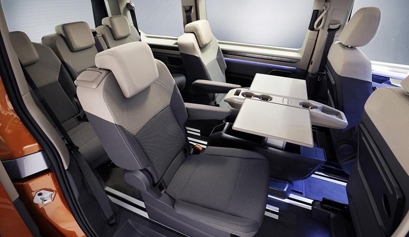interior vw multivan t7