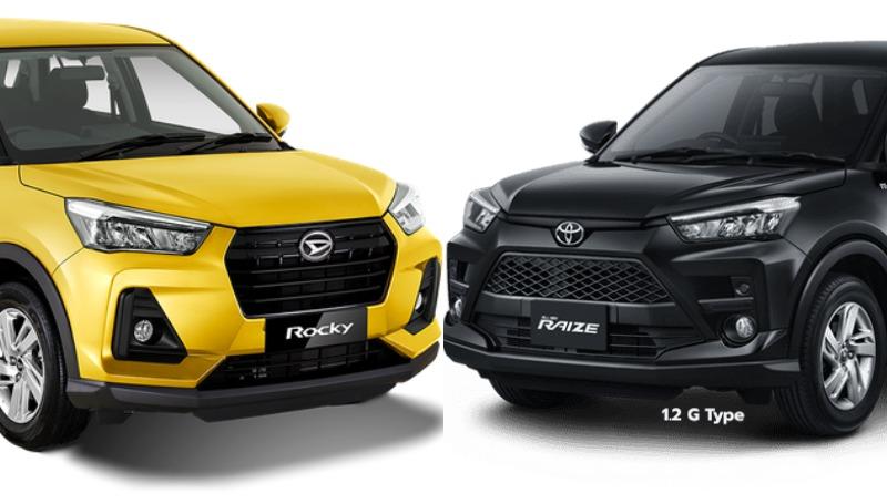 Daihatsu Rocky vs Toyota Raize