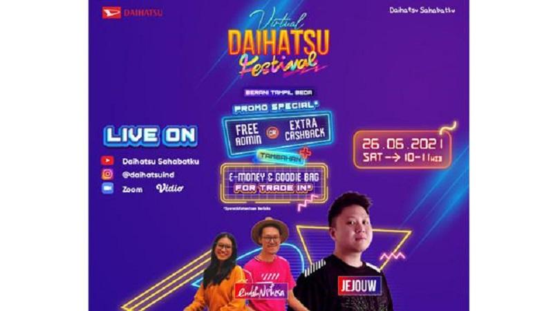 Daihatsu virtual Festival Juni