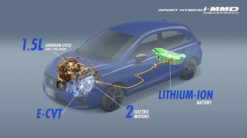 Honda City Hatchback Hybrid
