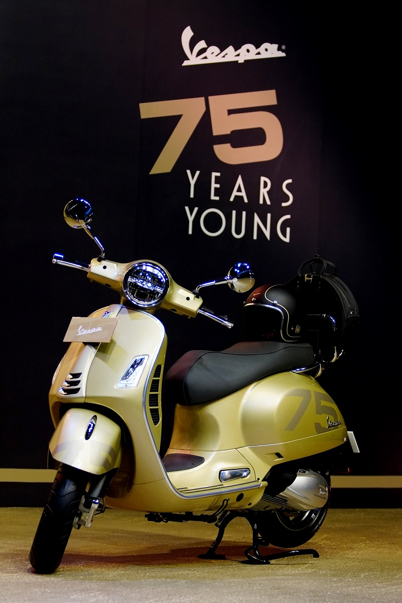 14. Vespa GTS 75th Anniversary