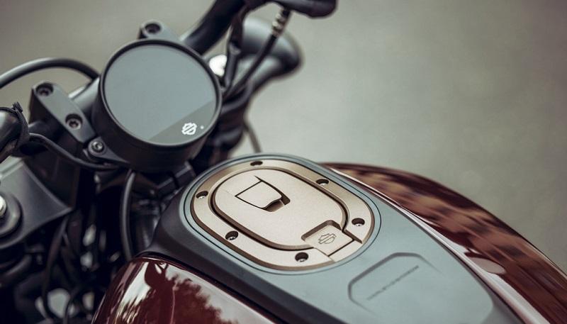 Harley-Davidson Sportster S - panel instrumen
