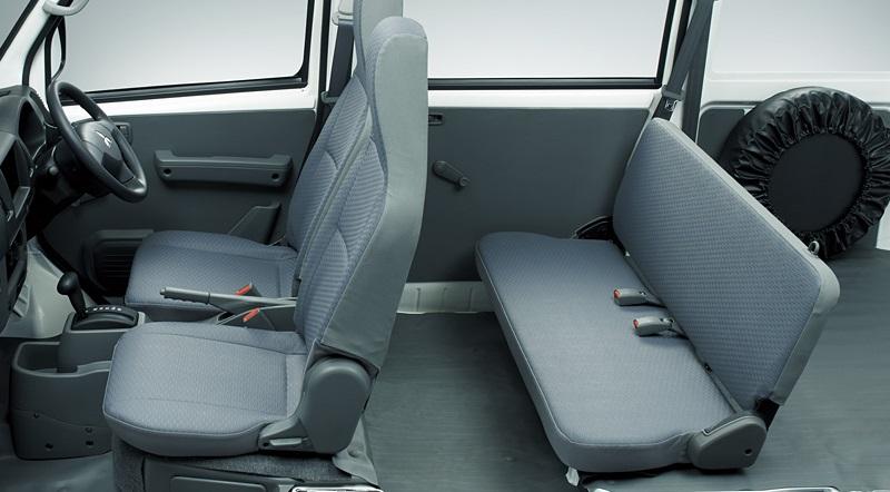 mitsubishi minicab miev 001 - interior