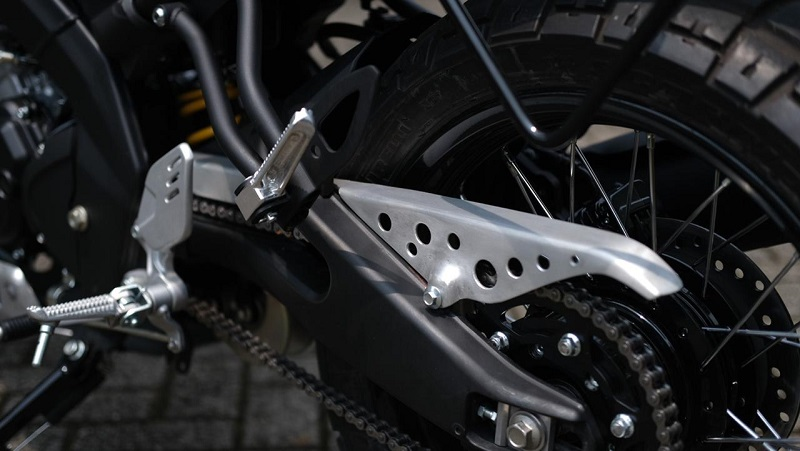 rantai motor berisik